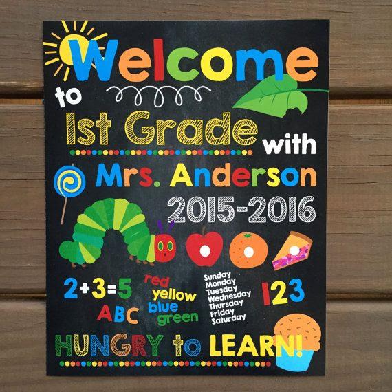 1000+ ideas about Welcome Sign Classroom on Pinterest | Teacher ...