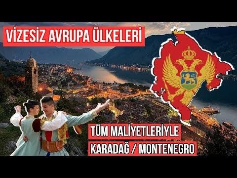 Vizesiz Avrupa Ülkeleri | Karadağ / Montenegro (VİDEO)