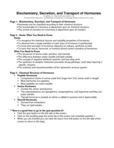 34 Biochemistry Skills Worksheet Answers - Worksheet ...