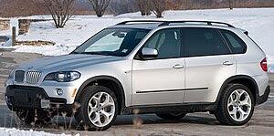 English: BMW X5 4.8i (E70) 2008