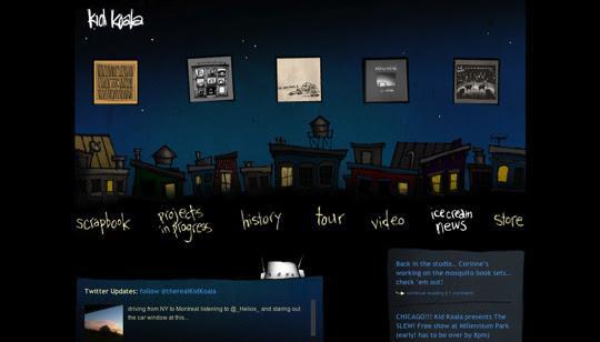 darksites29 50 Diseños web oscuros para inspirarte
