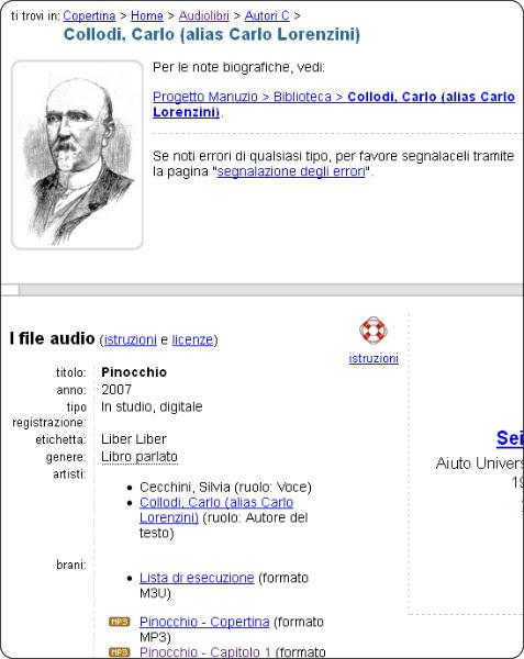 http://www.liberliber.it/audiolibri/c/collodi/index.htm