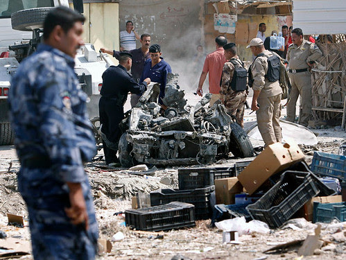 A series of car bombs throughout Iraq resulted in the deaths of more than 100 people. The attacks took place on September 9, 2012. by Pan-African News Wire File Photos