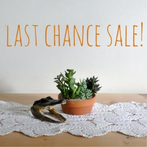 Last Chance Sale Reminder!