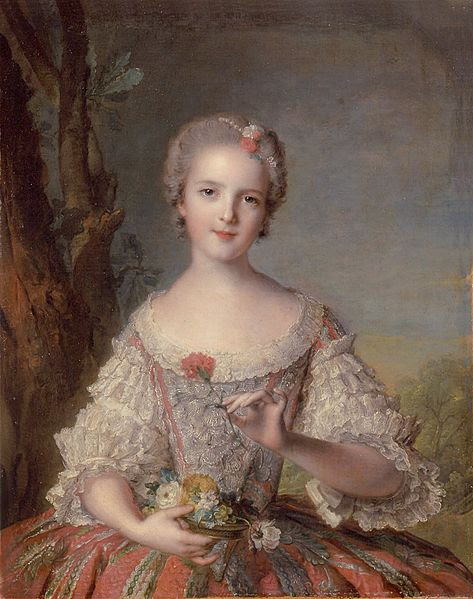 Portrait of Louise-Marie de France by Jean-Marc Nattier