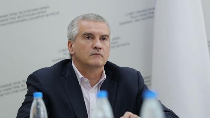 Сергей Аксёнов принял участие в заседании Совета при полпреде Президента РФ в ЮФО в режиме видеоконференцсвязи