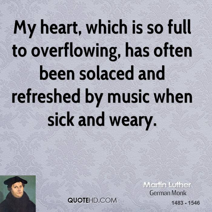 Martin Luther Music Quotes Quotehd