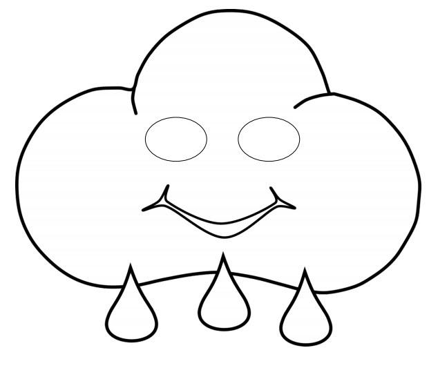 Kağıttan Bulut Maskesi