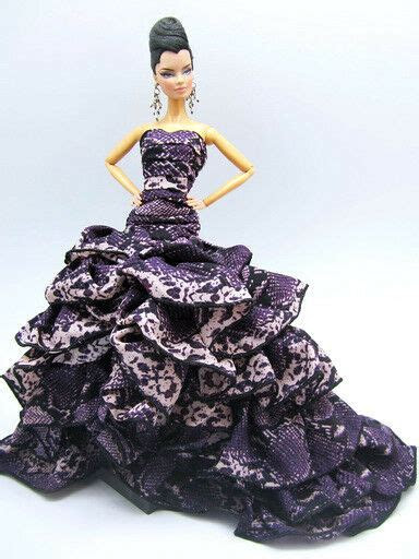evening dress outfit gown poppy parker silkstone barbie