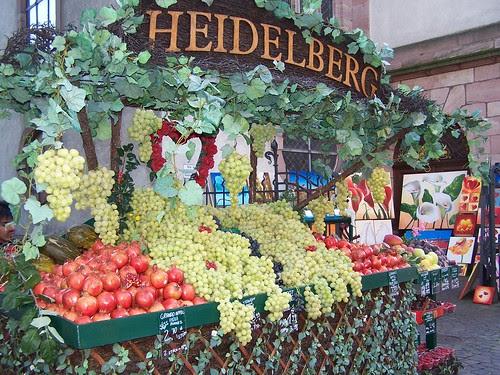 Heidelberg fruit seller