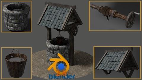 Udemy 3D Modeling 100% Off - Blender 2.8 Creating your First 3D Game Model