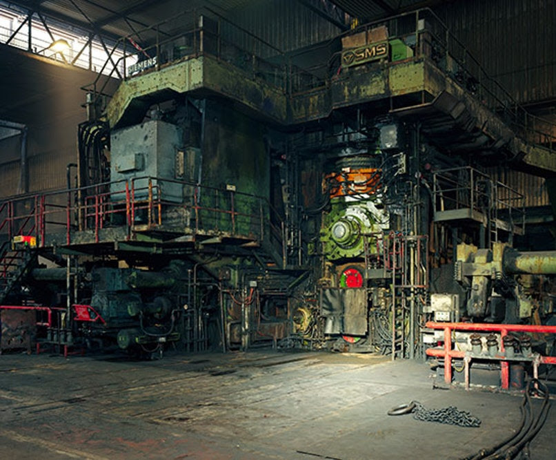 Hot Rolling Mill, Thomas Struth