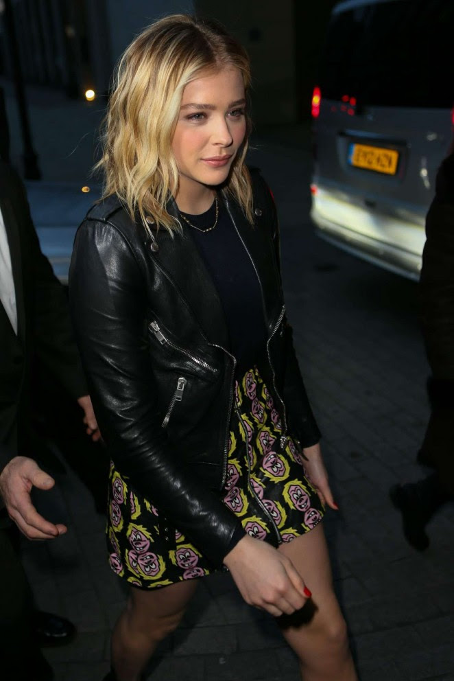 Chloe Moretz at BBC Radio One Studios -08