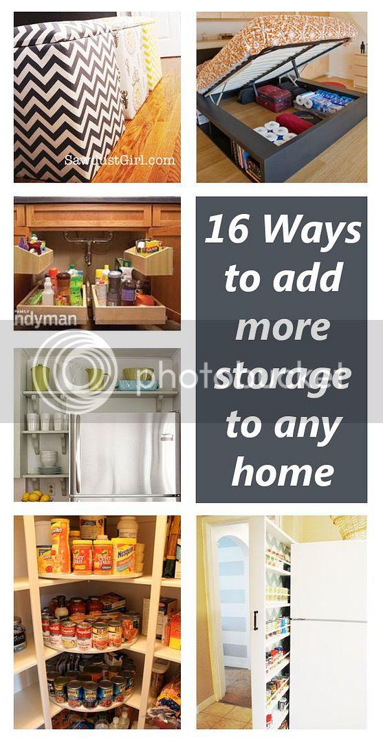 Bedroom Storage Ideas Diy