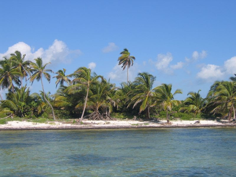 Beach on Ambergris Caye Belize