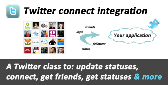 Twitter connect & API integration