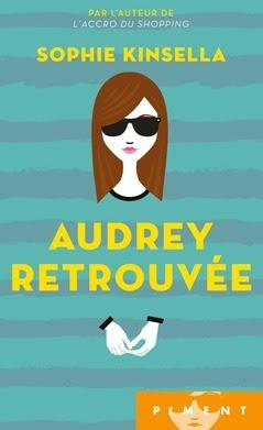 Couverture Audrey retrouvée