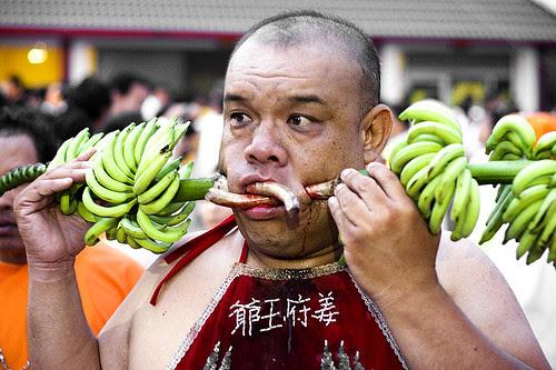 He's bananas