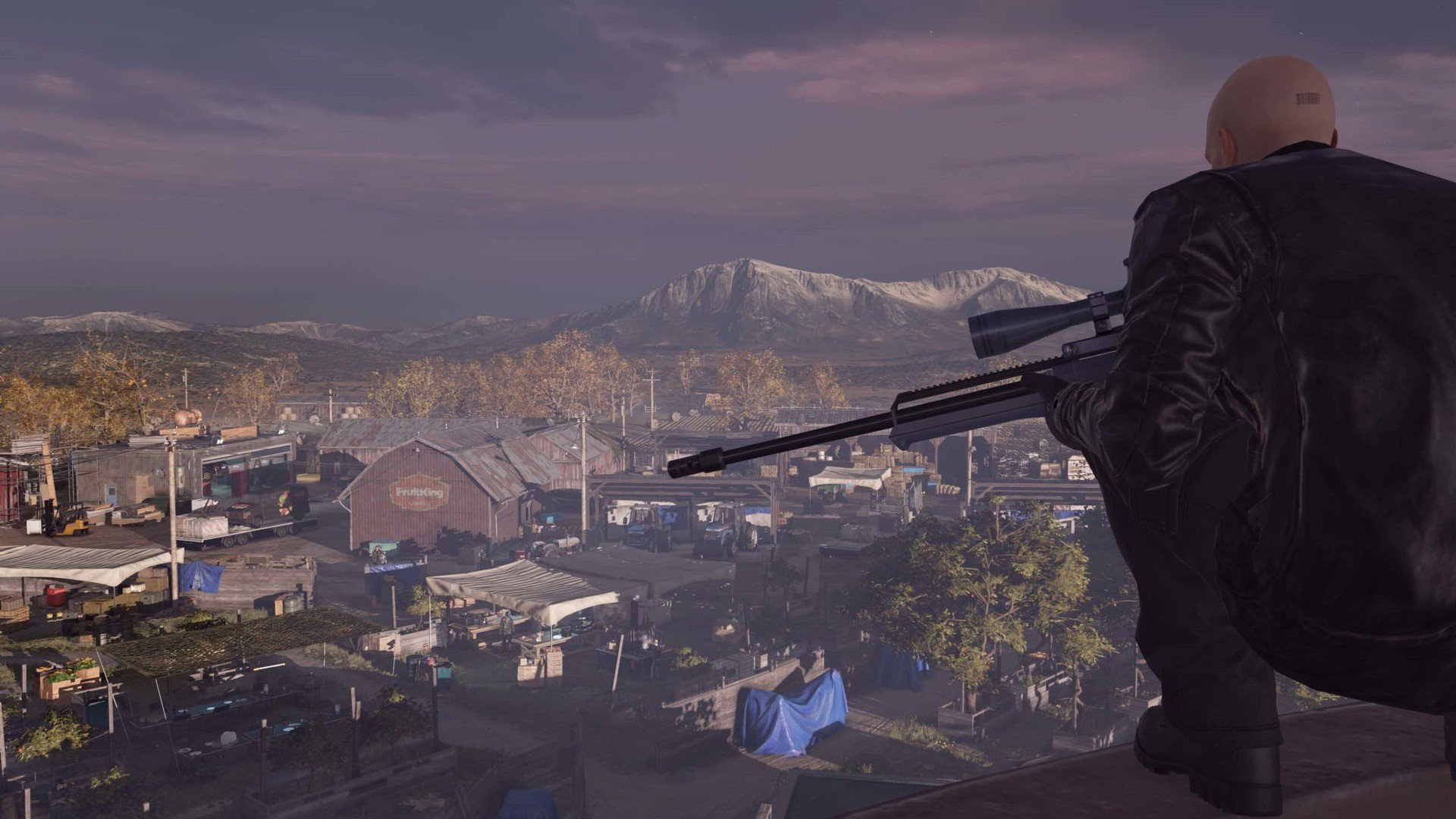 Hitman's new patch makes Agent 47 a little more professional screenshot