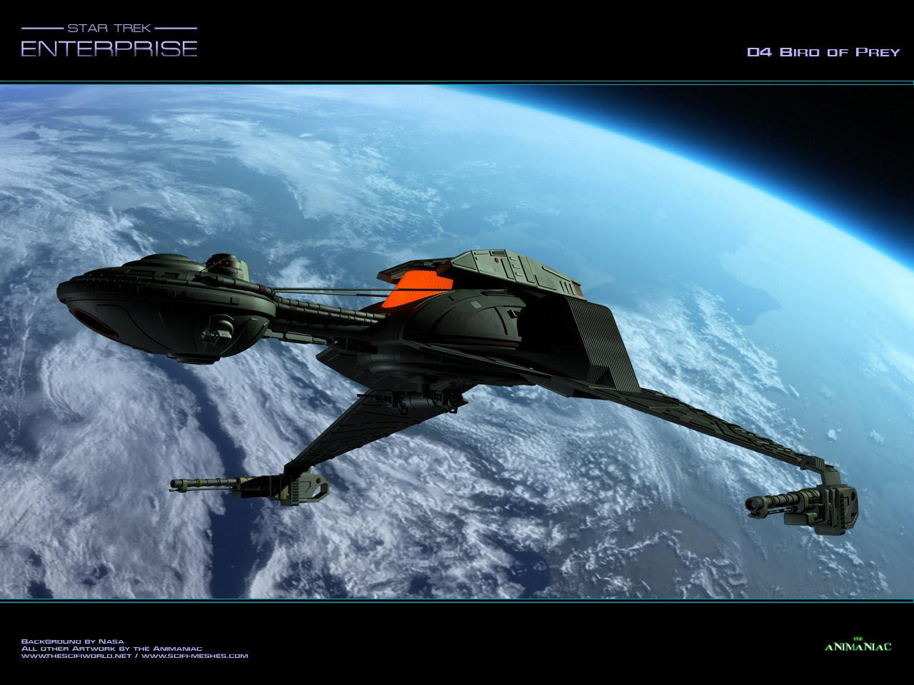 Bird Of Prey Klingons Wallpaper 12879571 Fanpop