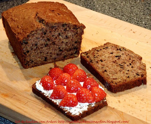 Aardbeiencake / Strawberry Bread
