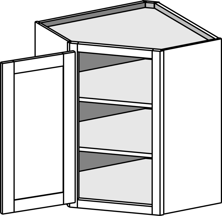 how to build out 45 deg. angle for kitchen backsplash ...