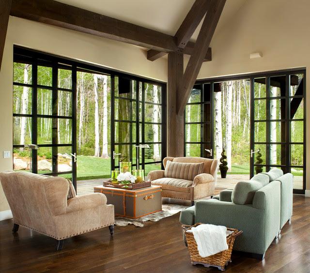 Indoor Outdoor Living - Contemporary - Living Room ...
