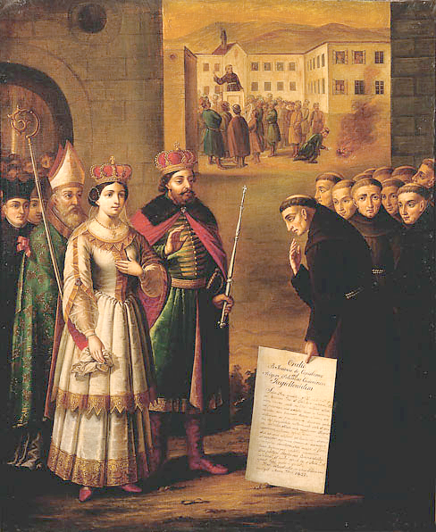 St. John of Capistrano and Polish King Casimir IV Jagiellon
