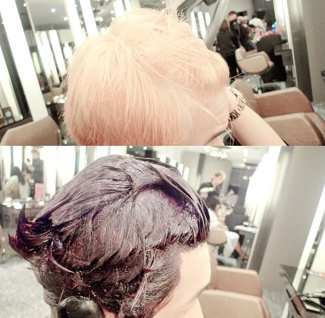 typicalben bleach final dye purple