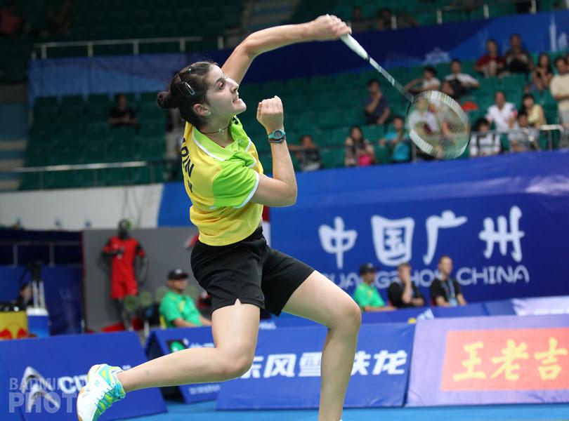 Carolina Marin Spanish Professional Badminton Player Wins women's world championships title 31 Aug 2014 very hot and beautiful stills