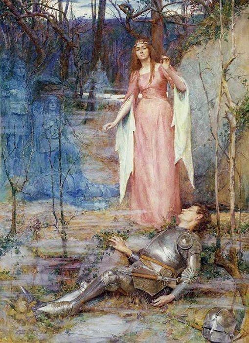 La Belle Dame Sans Merci - Henry Maynell Rheam