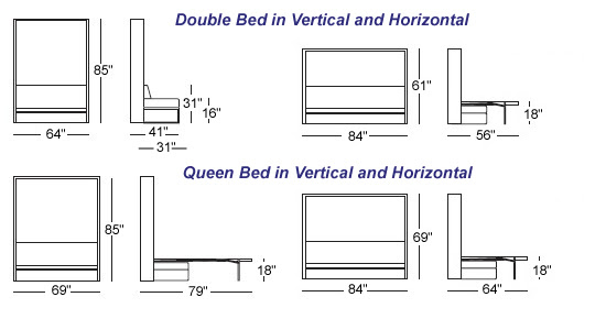 Fears Of A Professional Wall Bed Dimensions Roole