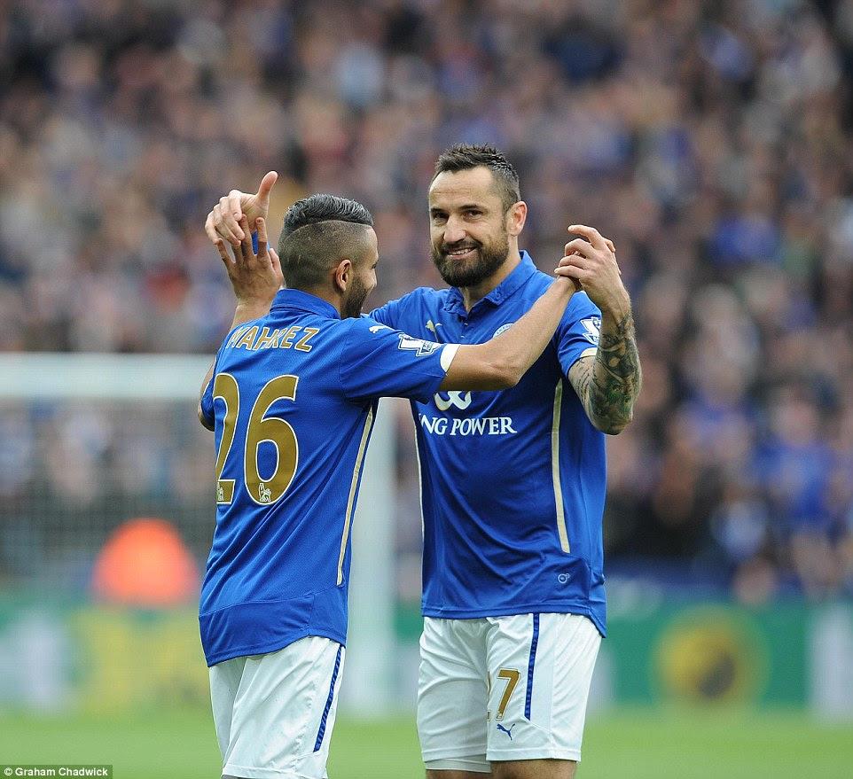 Leicester 2-0 Southampton: Riyad Mahrez brace boosts Foxes ...