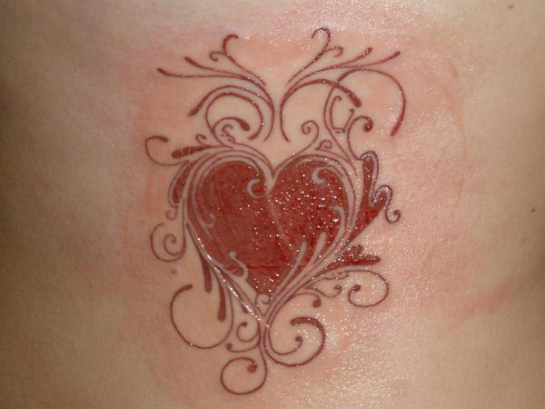 Heart Tattoo Designs Gallery 25