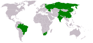 The BRICS - Brazil, Russia, India, China and S...