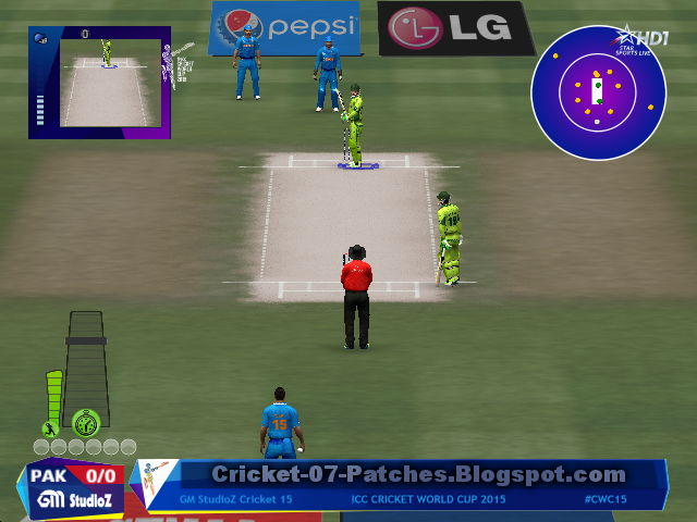 GM Studioz ICC Cricket World Cup 2015 Patch For Cricket 07