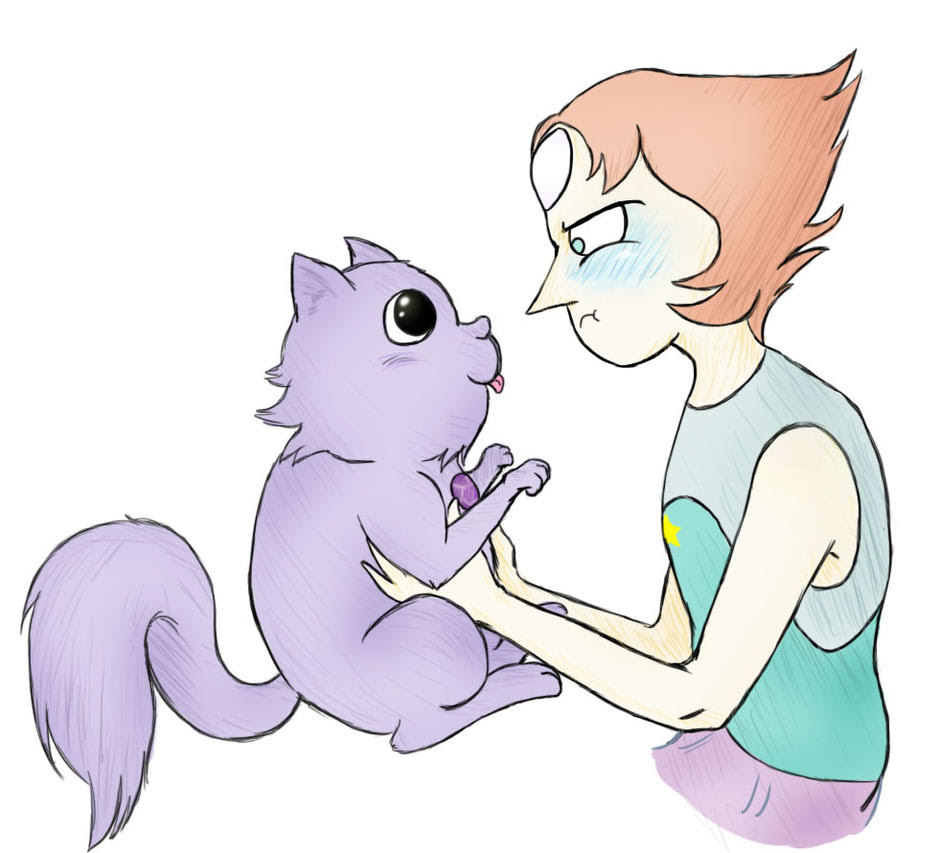 Kitty Amethyst is too cute (even for Pearl) I just...