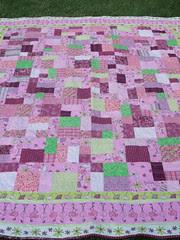 Flamingo quilt 02