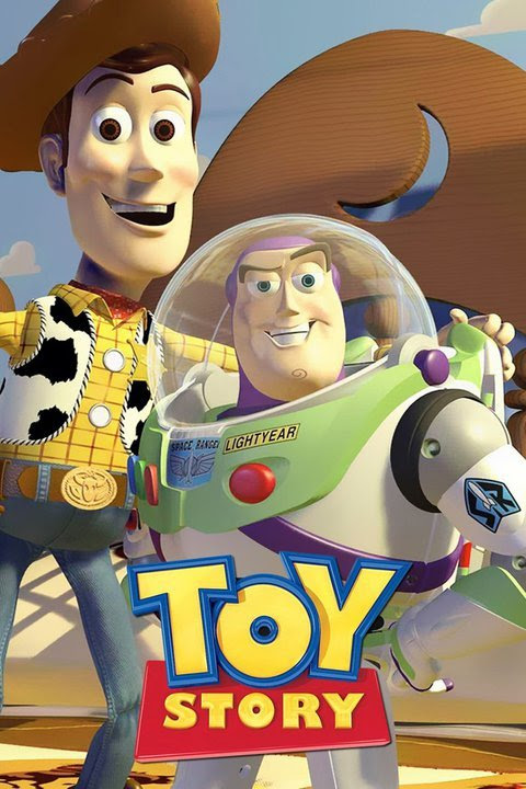 Woody and Buzz in the original Toy Story