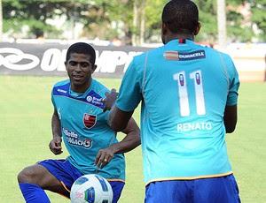 Junior Cesar treino Flamengo (Foto: Alexandre Vidal / Fla imagem)