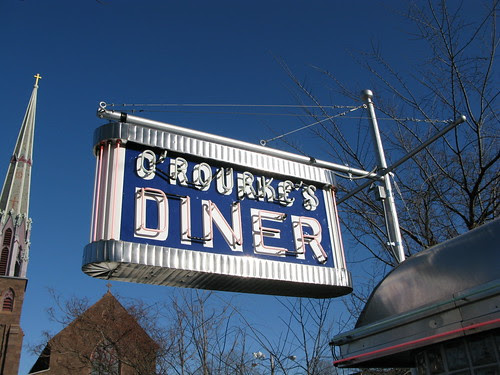 Guess Who's Back! O'Rourke's Diner!
