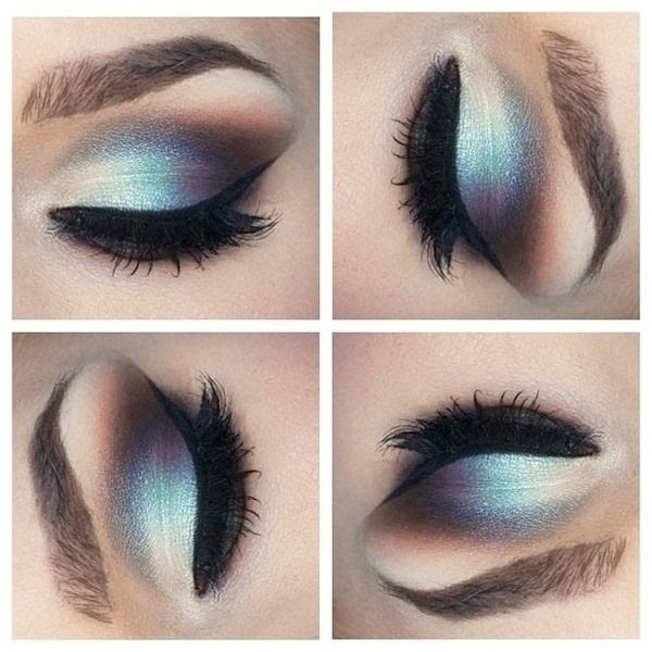 silver and blue eyeshadow  http://www.beautylish.com/f/jusiap/silver-and-blue-eyeshadow  Photo by Ashley S.
