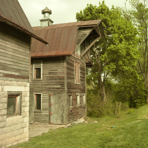 Barns of Rose Hill Before Renovation