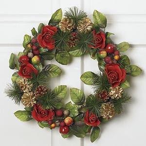20 Beautiful Christmas Wreath Decorating Ideas – DesignSwan.