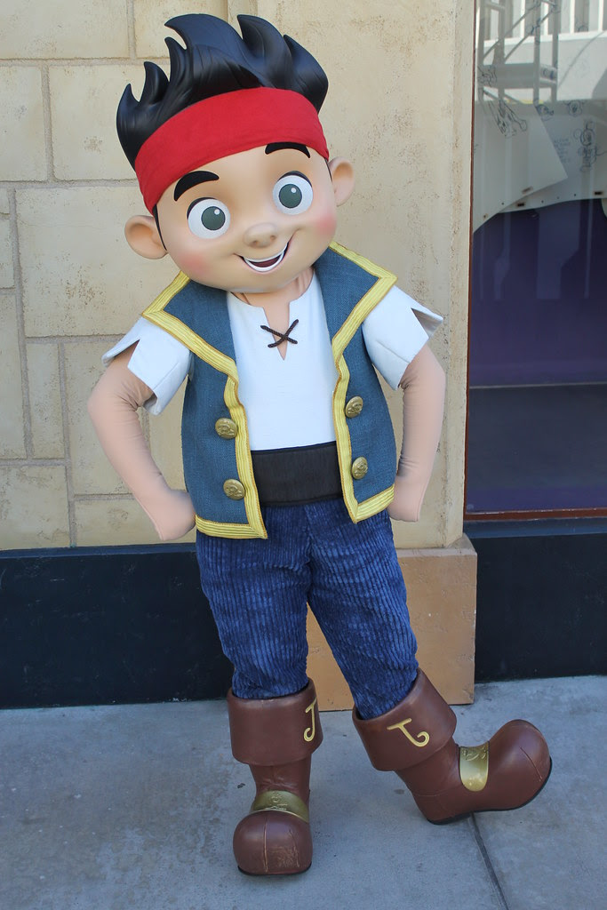 Meeting Jake From The Never Land Pirates Taken On