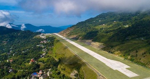 India Gets Its 100th Airport In Pakyong, Sikkim; Located At 4,500 Ft In Himalayas