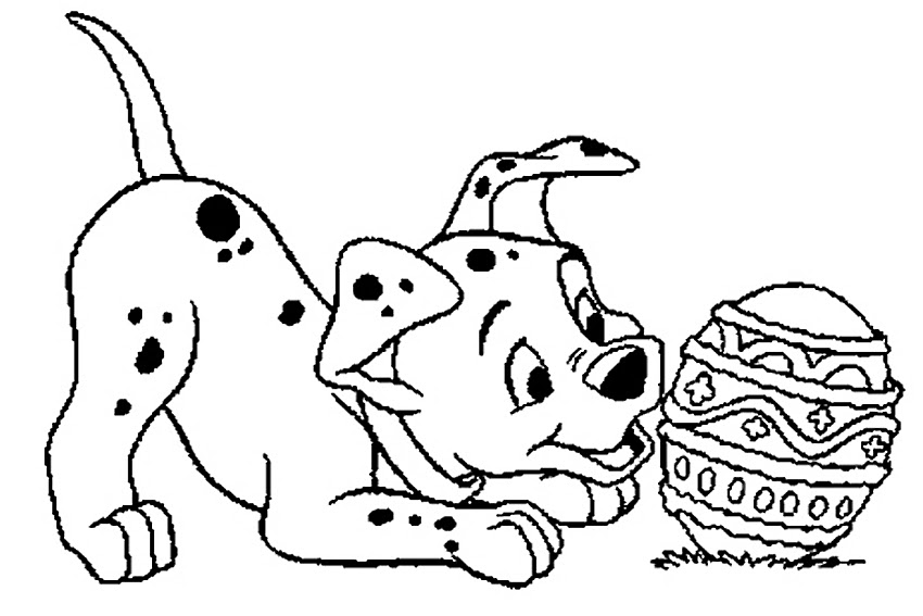 Simple Easter Coloring Pages at GetDrawings | Free download