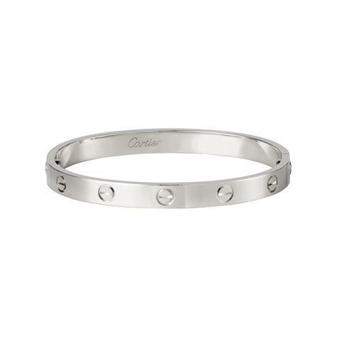 Cartier ?Love? Bracelet in White Gold ? Estate ? Marshall