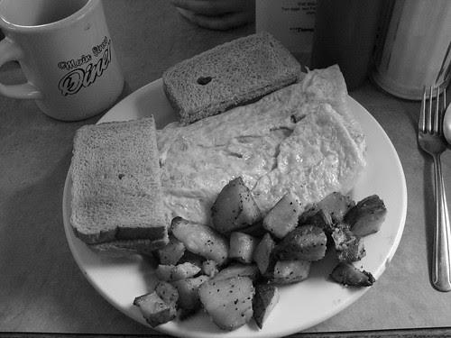 Breakfast - Hash omelet
