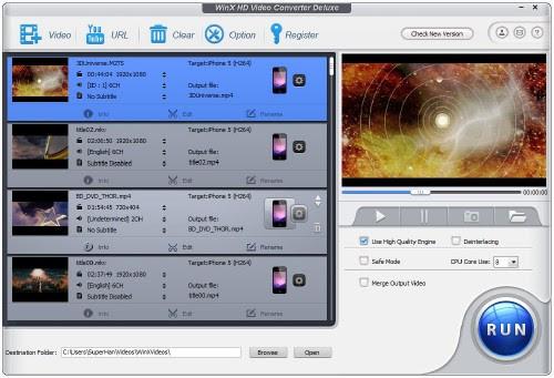 WinX HD Video Converter Deluxe 5.0.5.194 Build 18.04.2014